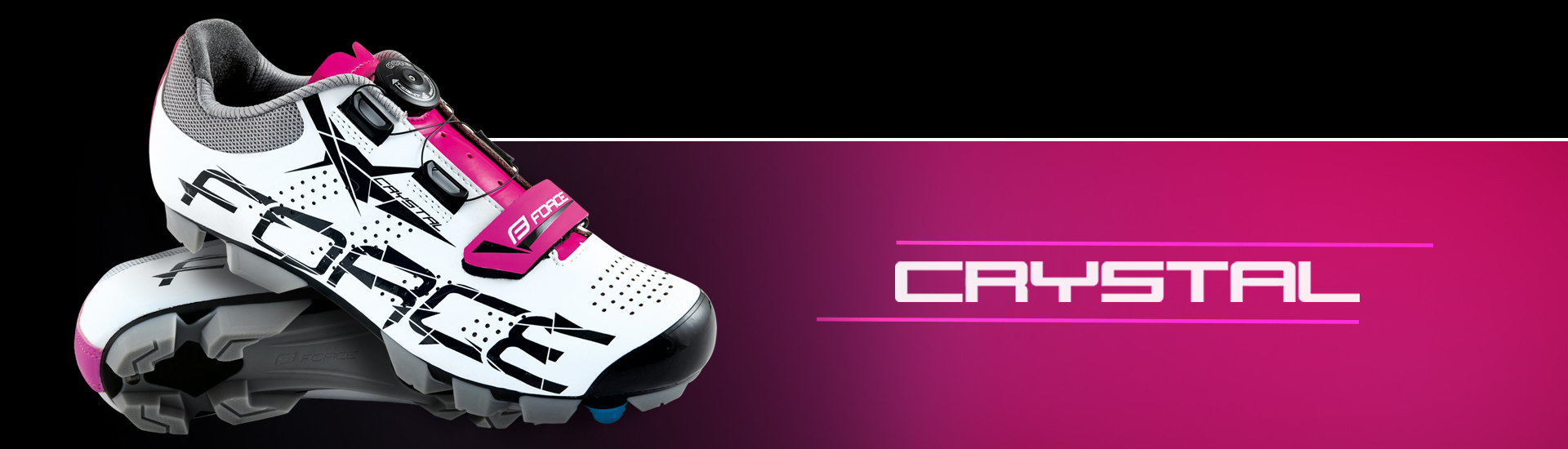 Sapatos FORCE Crystal