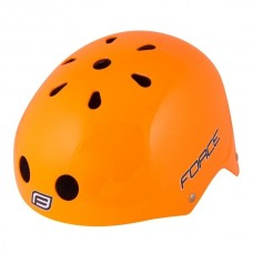 Capacete - S/M - FORCE BMX, laranja